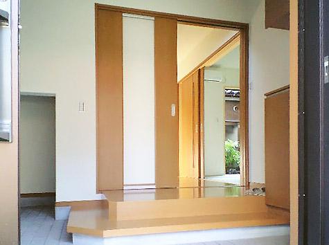 沢田工務店 注文住宅(建て替え) 玄関