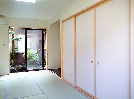 沢田工務店 注文住宅(建て替え) 室内(和室)