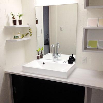 注文住宅施工事例 洗面所