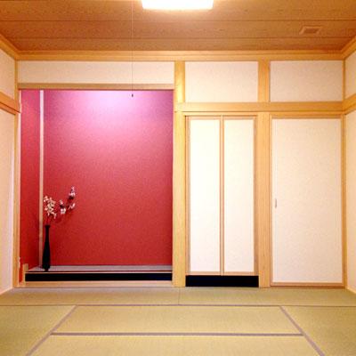 注文住宅施工事例 和室