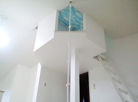 リフォーム 子供用の屋根裏部屋