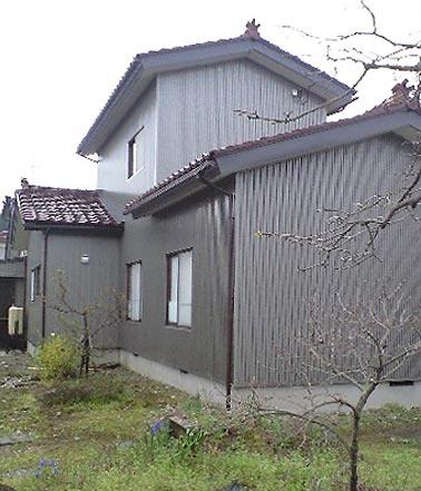 沢田工務店のリフォーム 外観