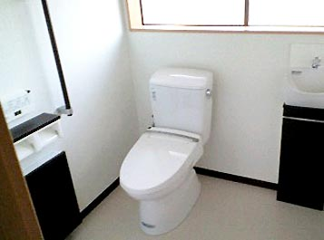 沢田工務店のリフォーム トイレ